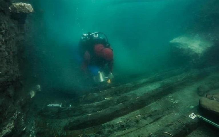 Αίγυπτος: Αρχαίο στρατιωτικό σκάφος ανακαλύφθηκε στη βυθισμένη πόλη Ηράκλειον
