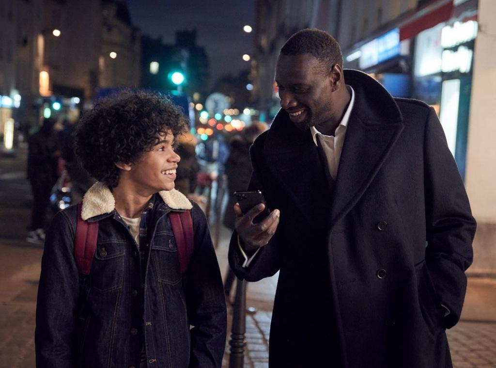 Netflix - Lupin: Ο Assane με τον γιο του