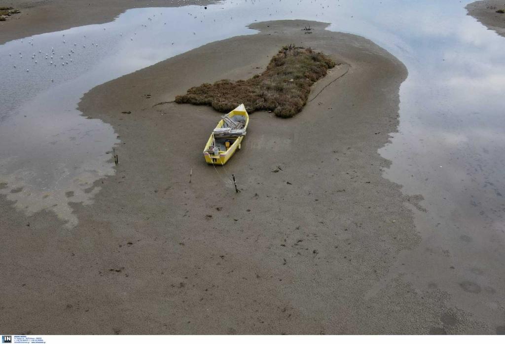 Η θάλασσα υποχώρησε