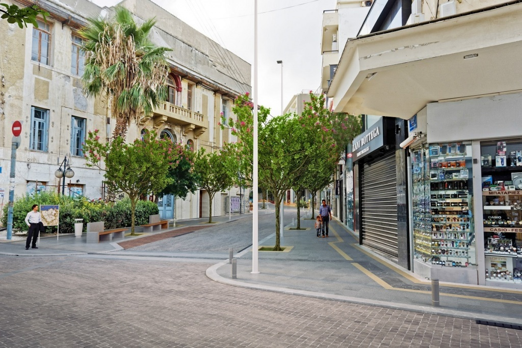 Το έργο χρηματοδοτείται  από ιδίους πόρους του Δήμου Ηρακλείου