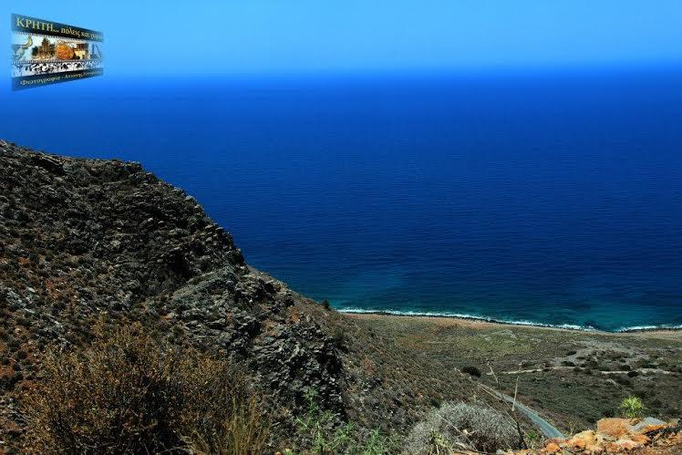 Η παραλία των Ανωγείων Μιραμπέλου