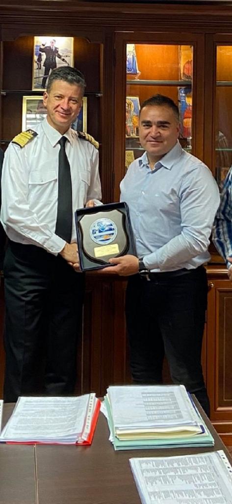 Ο Πρόεδρος της ΕΠΛΣΑΚ με τον Αρχηγό του ΛΣ