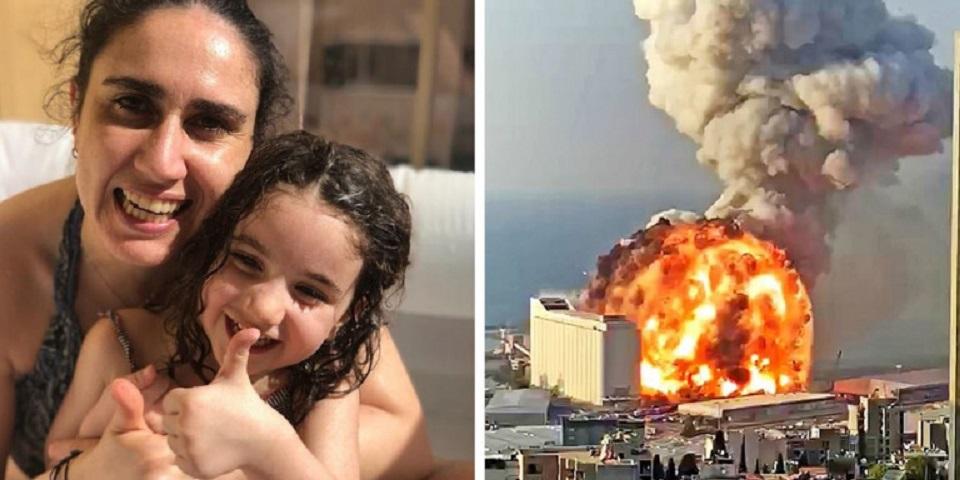 Η Αλεξάνδρα έχασε τη ζωή της στη Βηρυτό, όταν το ωστικό κύμα την
