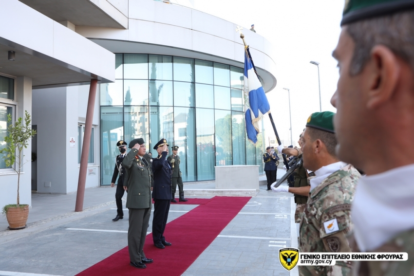 Ο Αρχηγός ΓΕΕΦ αναφέρθηκε στην προκλητική συμπεριφορά της Τουρκίας.