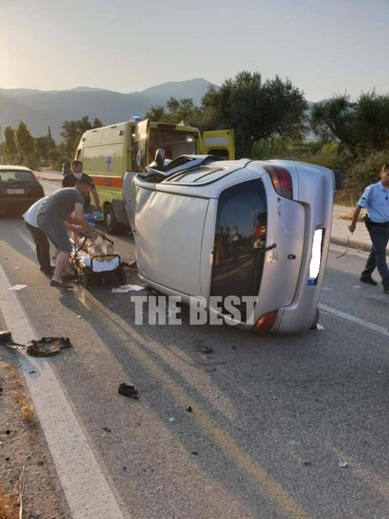 Το τροχαίο ατύχημα σημειώθηκε τα ξημερώματα