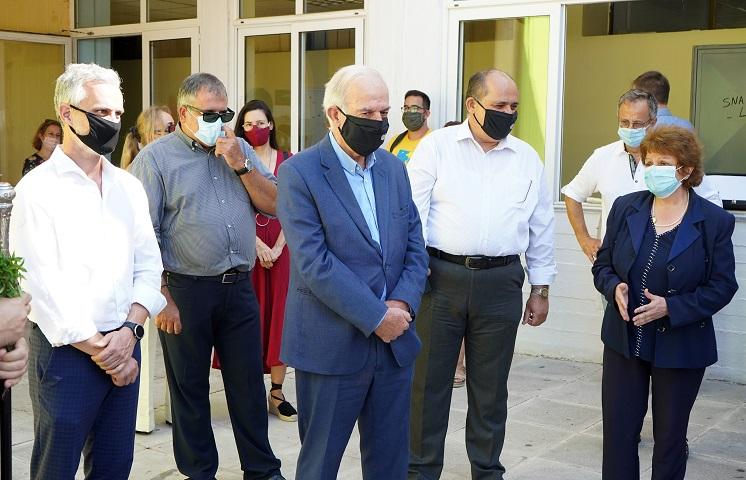 ο Δήμαρχος Ηρακλείου ευχήθηκε στα παιδιά