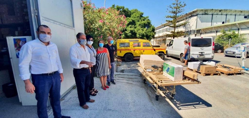 δωρεά εξοπλισμού στο Βενιζέλειο Νοσοκομείο
