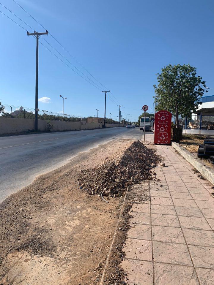 Δρόμος στη Νέα Αλικαρνασσό