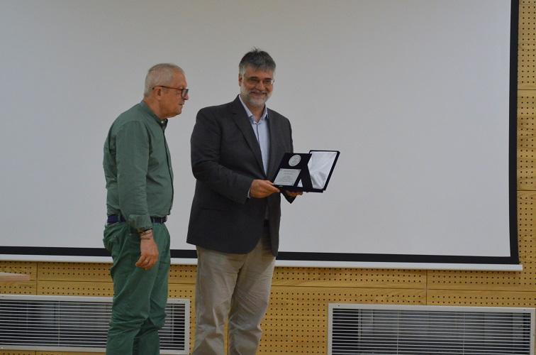 Στο Ελληνικό Μεσογειακό Πανεπιστήμιο ο διακεκριμένος καθηγητής Ιωσήφ Σηφάκης