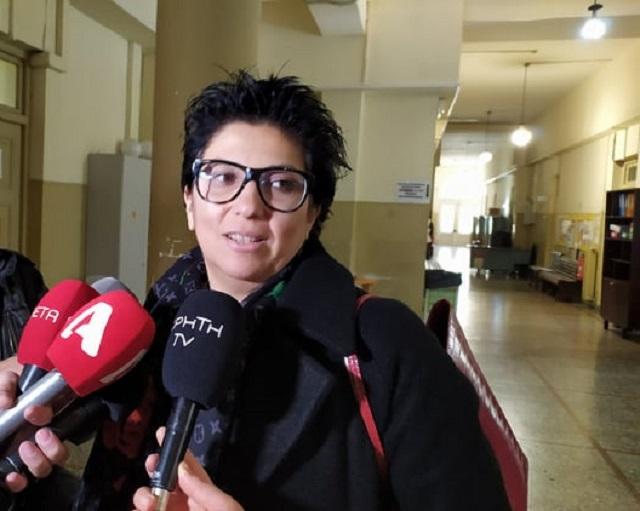 Η Ελπίδα Σπανουδάκη, ιατροδικαστής και τεχνική σύμβουλος της οικογένειας Παρασκάκη