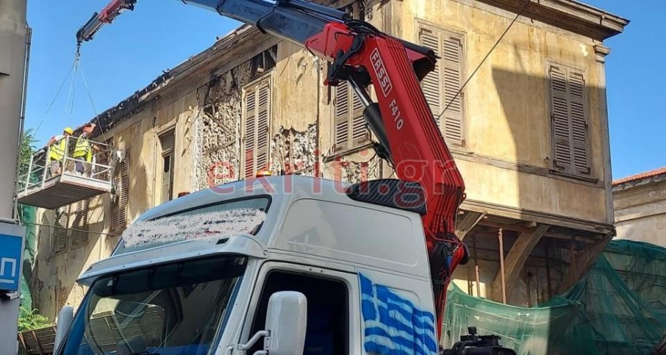 Διακόπτεται από σήμερα και για όλο το Σαββατοκύριακο η κυκλοφορία στην οδό Αγίου Μηνά λόγω των εργασιών