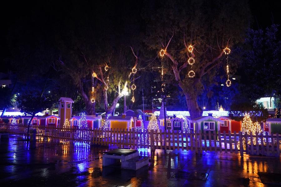Το Χριστουγεννιάτικο Κάστρο, διαφορετικό φέτος