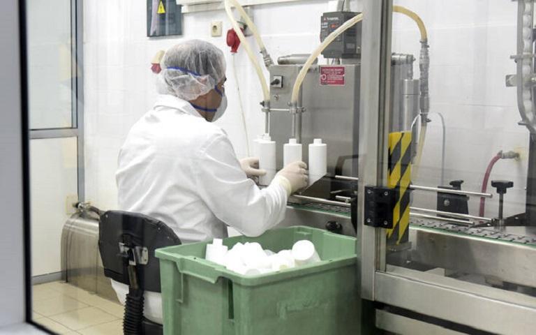 παραγωγή υγρών αντισηπτικών