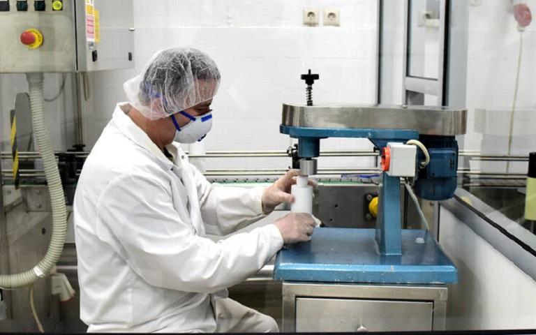 παραγωγή αντισηπτικού διαλύματος από κατασχεμένες ποσότητες αιθυλικής αλκοόλης