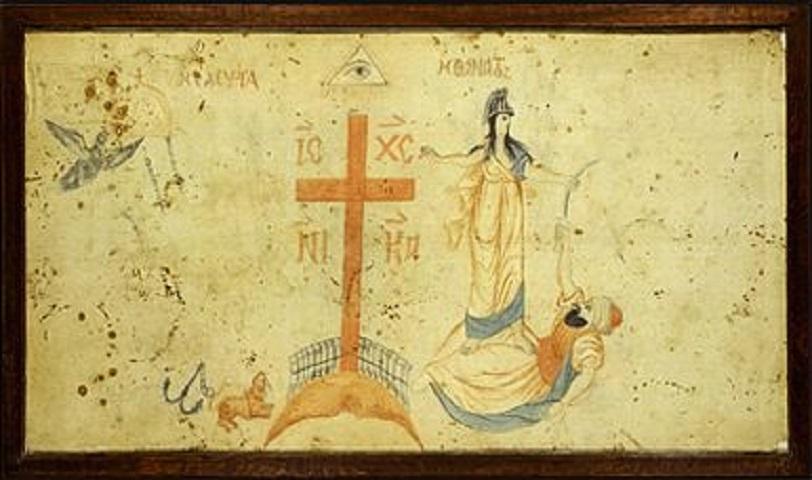 Aρχικά ανήκε στον Θεόδωρο Kολοκοτρώνη, ο οποίος την προσέφερε στον Kωνσταντίνο Δραγώνα.