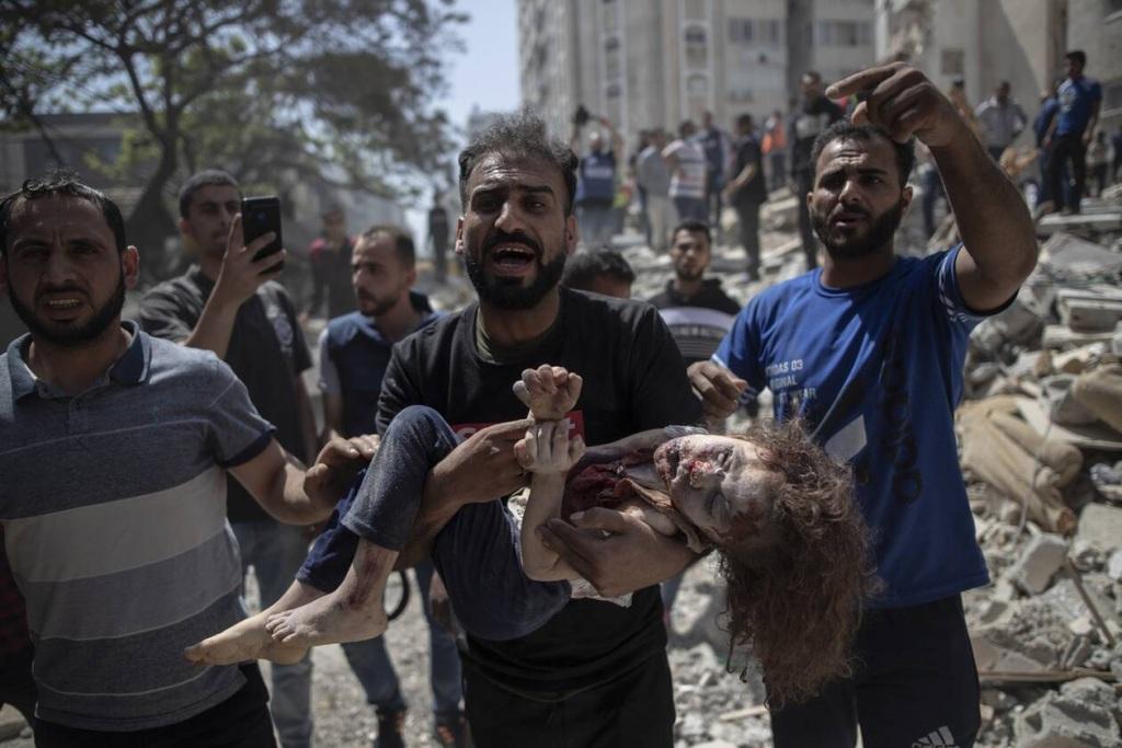 Δεκάδες παιδιά έχουν χάσει μέχρι στιγμής τη ζωή τους στη Γάζα