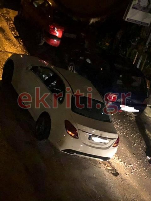 Ακινητοποιημένα αυτοκίνητα στην οδό Γεννηματά
