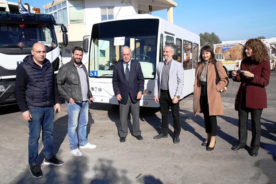 Ήρθε το πρώτο ηλεκτροκίνητο λεωφορείο