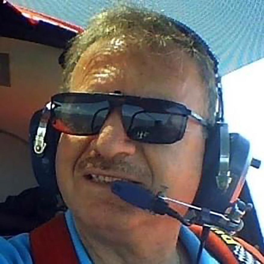 Ο πιλότος του αεροσκάφους