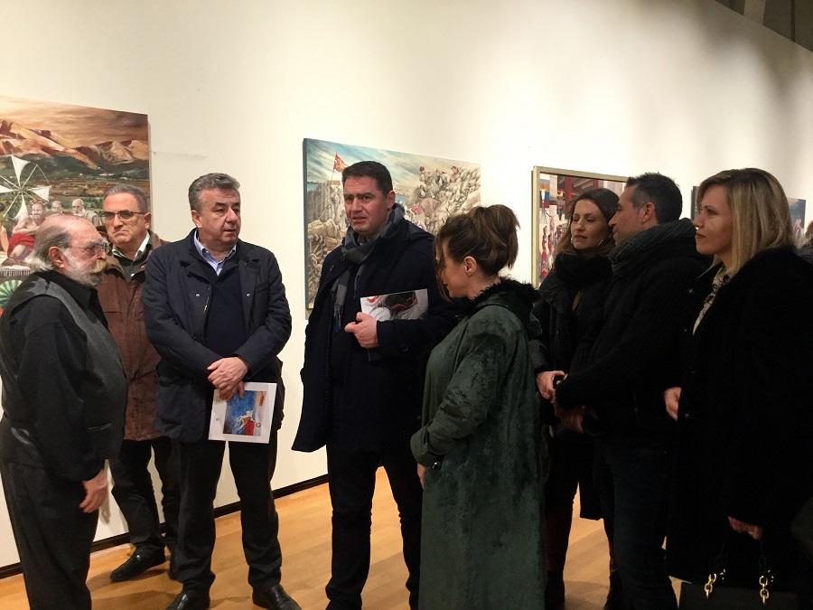 Σταύρος Αρναουτάκης με τον Δήμαρχο Χερσονήσου Γιάννη Σέγκο
