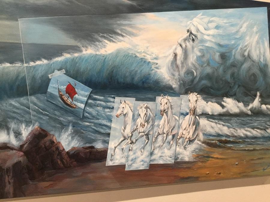 Πίνακας του Ρουσσέτου Παναγιωτάκη