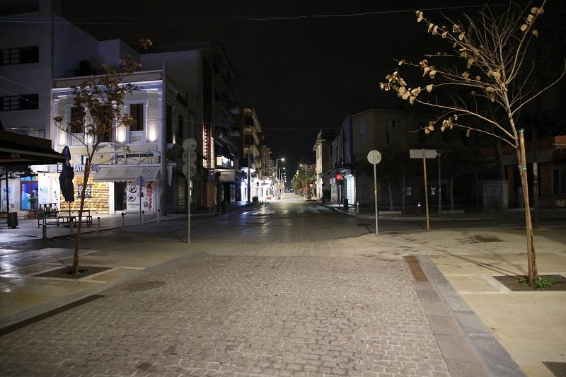 Φωτογραφία από το κέντρο του Ηρακλείου λίγο πριν την Ανάσραση