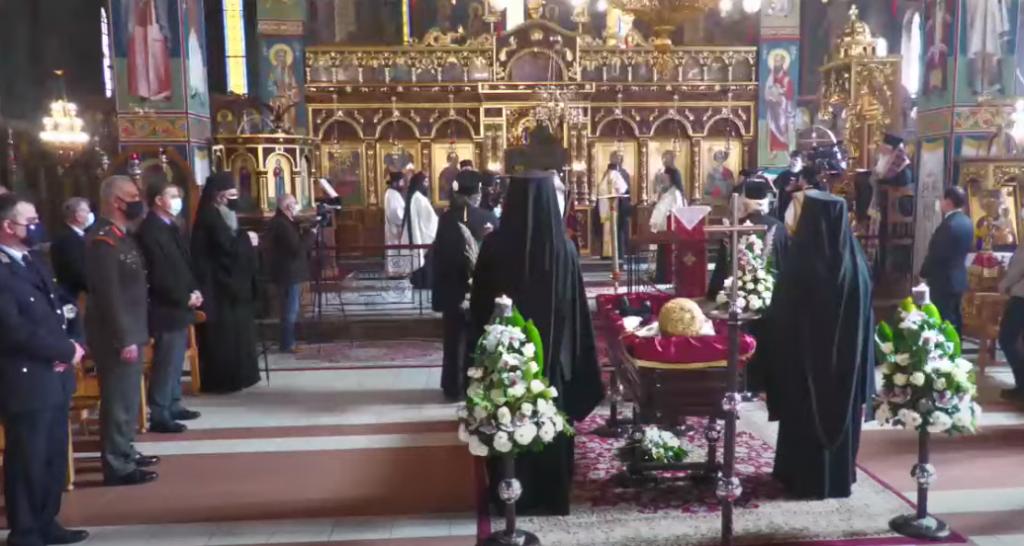 Κηδεία Μητροπολίτη Κιλκίς