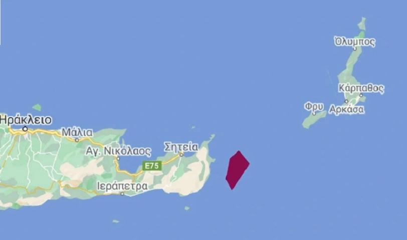 Η περιοχή των ερευνών του Nautical Geo