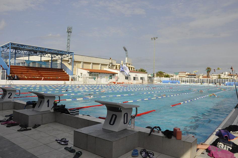 Το κολυμβητήριο  Ηρακλείου