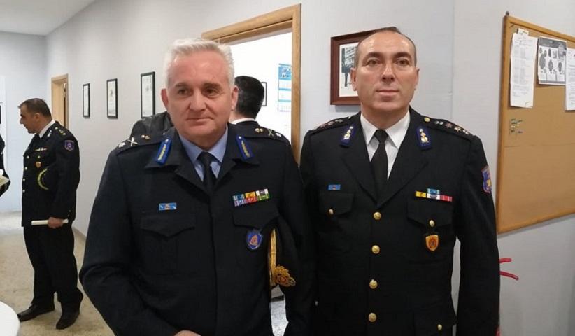 Ο Νίκος Λαγουδάκης με τον Δημσοσθένη Μπουντουράκη
