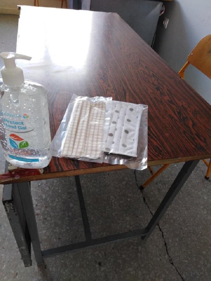Ο Δήμος Οροπεδίου Λασιθίου παρέδωσε χθες όλα τα μέσα υγειονομικής προστασίας