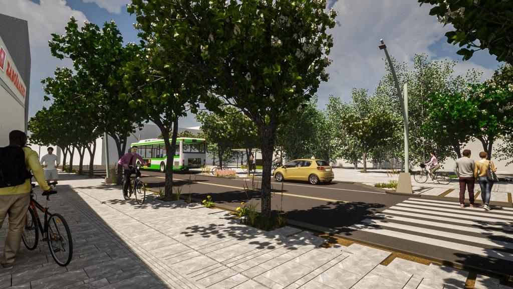 Οι πολίτες ψήφισαν τα χαρακτηριστικά της ανάπλασης που θα ήθελαν να δουν στην περιοχή, επιλέγοντας ανάμεσα σε τρεις προτάσεις. Πρόκειται για την ανάπλαση του τμήματος της οδού που ξεκινά από την οδό Μακεδονίας και φτάνει ως τον Ιερό Ναό του Αγίου Νικολάου