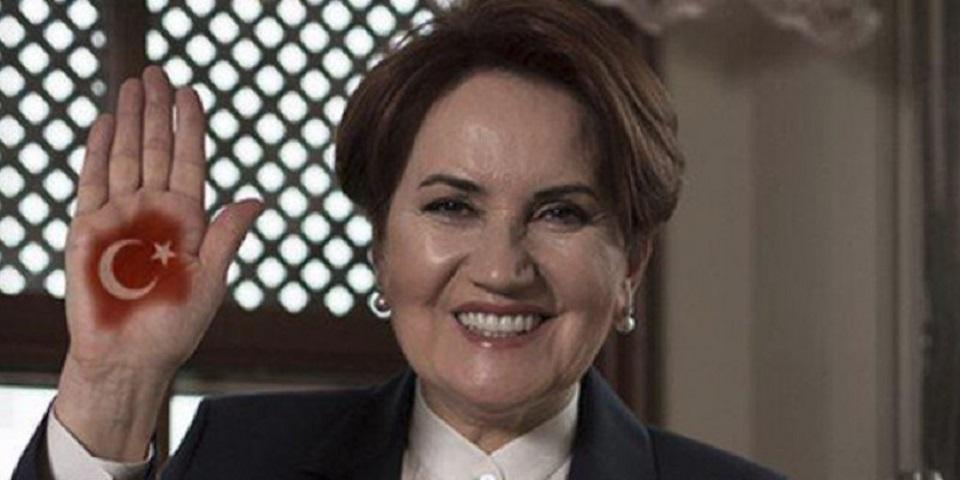 Η επικεφαλής του εθνικιστικού Καλού Κόμματος της Τουρκίας, Μεράλ Ακσενέρ / Φωτογραφία αρχείου: ΑΡ
