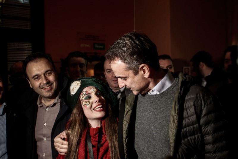 επίσκεψη του Κυριάκου Μητσοτάκη στον Μύλο των Ξωτικών στα Τρίκαλα