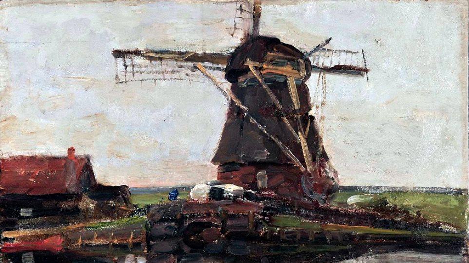 «Ανεμόμυλος Στάμμερ» (1905) του Ολλανδού Πιετ Μοντριάν