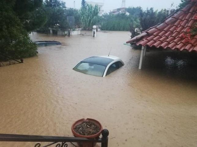 εύβοια πλημμύρες