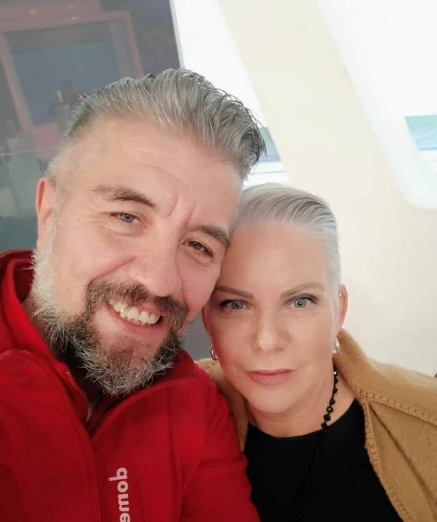 Η Παλαιτσάκη και ο σύντροφός της