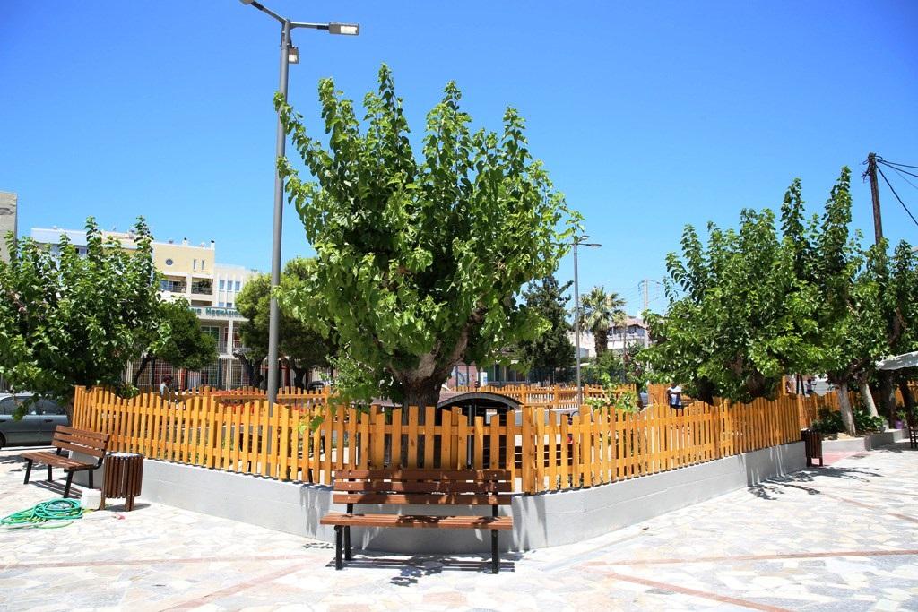 Το νέο Πάρκο στον Κατσαμπά είναι ένας κοινόχρηστος χώρος 1.850 m2