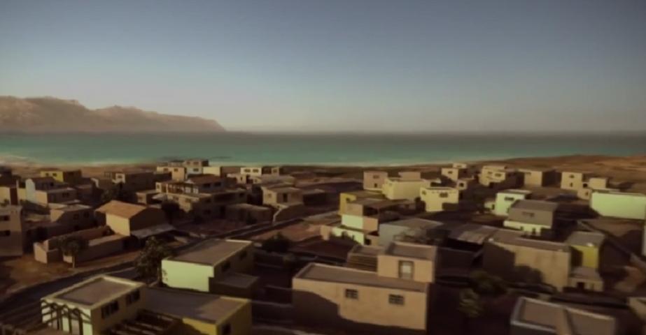 Τρισδιάστατο μοντέλο της βυθισμένης πολιτείας Παυλοπέτρι - φωτογραφίες BBC