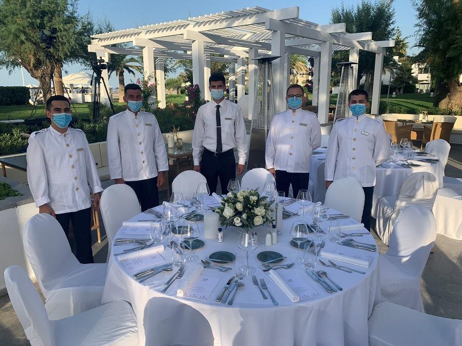 Η εκδήλωση φιλοξενήθηκε στο πολυτελές ξενοδοχείο Grecotel Creta Palace.
