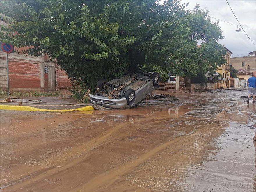 Αυτοκίνητα έχουν υποστεί σοβαρές ζημιές