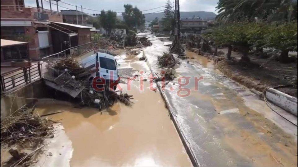 Καταστροφές στις Γούβες