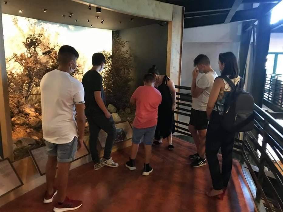 Τα παιδιά τουΚέντρου Κοινωνικής Πρόνοιας Περιφέρειας Κρήτης στο Μουσείο Φυσικής Ιστορίας