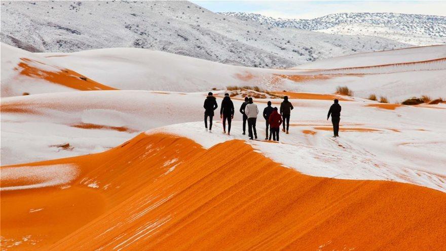 Χιόνια στην Σαχάρα