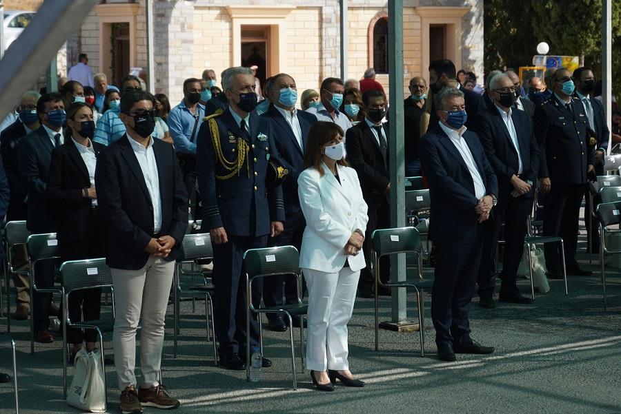 Παρούσα στις εκδηλώσεις η Πρόεδρος της Δημοκρατίας