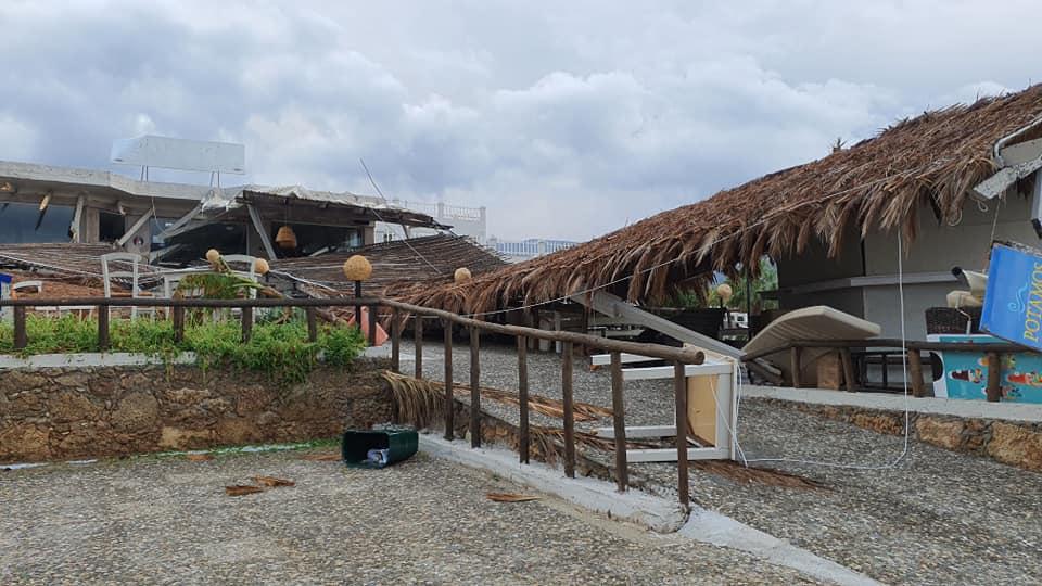 Καταστροφές και σε παραλιακές περιοχές των Μαλίων