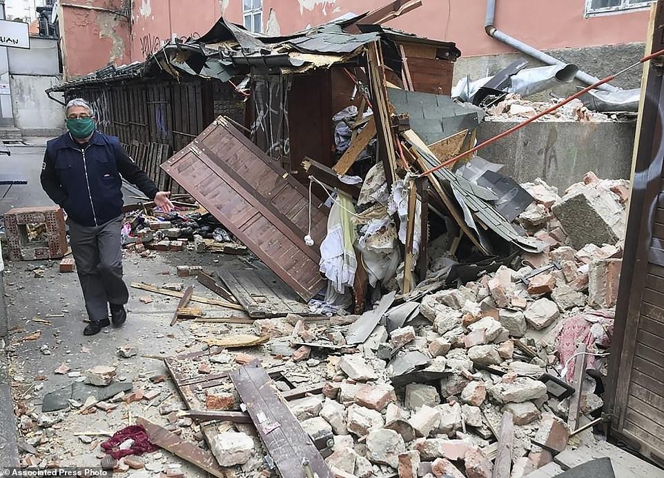 Ο σεισμός διήρκεσε πάνω από 10 δευτερόλεπτα