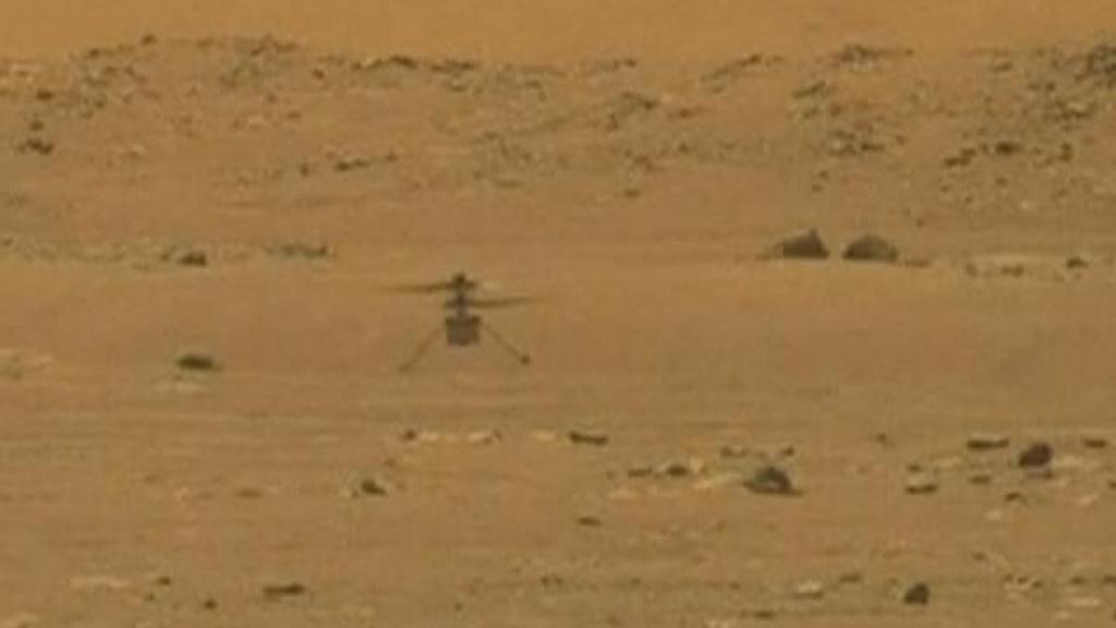 Το Ingenuity πέταξε για πρώτη φορά στον Άρη