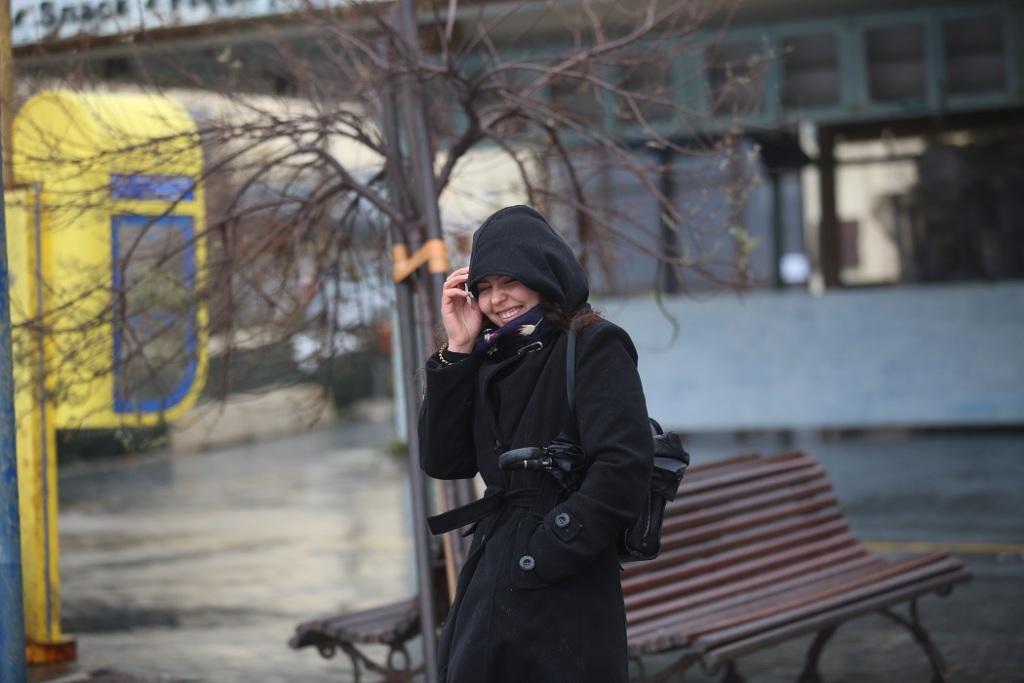 Κρύο, βροχή και αέρας στο Ηράκλειο