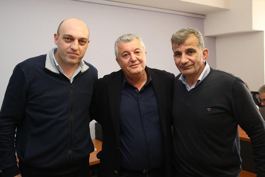 Οι κ. Βαρδαβάς,Καλογεράκης και Π.Μουρτζανός